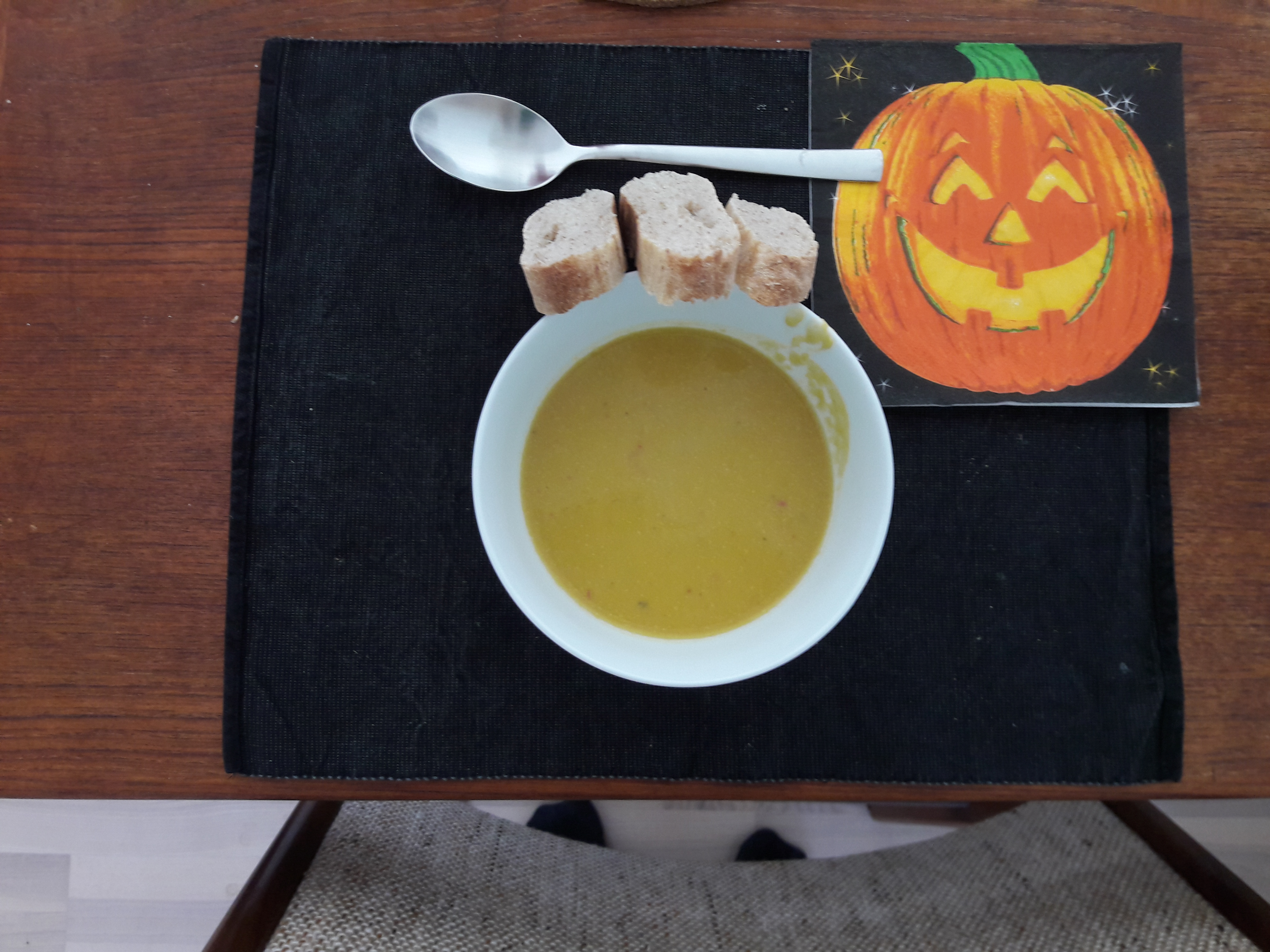 Trick or treat – Græskarsuppe
